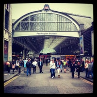 Photo taken at London Paddington Railway Station (QQP) by Christian H. on 6/20/2013