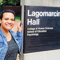 Photo taken at Lagomarcino Hall by Chris M. on 10/3/2014