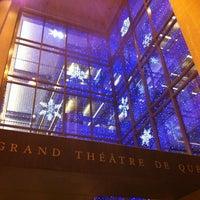 Photo taken at Grand Théâtre de Québec by Hélène S. on 2/8/2013
