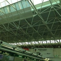 Photo taken at Terminal 1 by Giulia N. on 7/5/2013