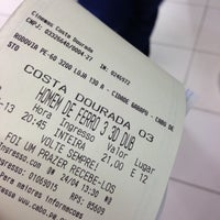 Photo taken at Cinemas Costa Dourada by Antonio C. on 4/24/2013