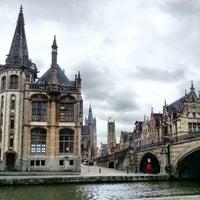 Photo taken at Sint-Michielsbrug by Robert v on 12/25/2012