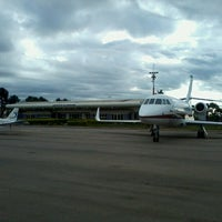 Photo taken at Aeroporto Estadual Bertram Luiz Leupolz (SOD) by Vitor P. on 4/12/2013