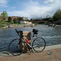 Photo taken at Confluence Park by Daniel A. on 5/18/2013