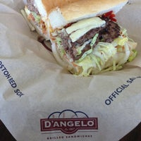 Photo taken at D'Angelo Grilled Sandwiches by Patrick M. on 8/3/2013
