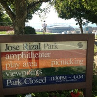 Photo taken at Dr. Jose Rizal Park by Suzie B. on 7/10/2014