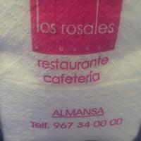 Photo taken at Los Rosales by Jesus B. on 10/1/2013