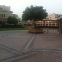 Photo taken at Knowledge Village قرية المعرفة by Xristina on 5/15/2013