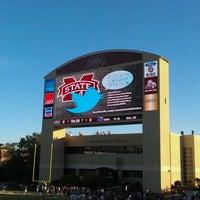 Photo taken at Davis Wade Stadium at Scott Field by Van P. on 10/20/2012