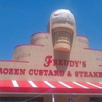 Photo taken at Freddy's Frozen Custard & Steakburgers by Tony C. on 5/13/2013