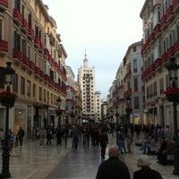 Photo taken at Marqués de Larios Street by Dmitry P. on 4/28/2013