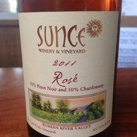 Photo taken at Sunce Winery by Liane B. on 8/1/2015