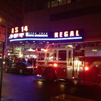 Photo taken at Regal Cinemas Union Square 14 by Joe S. on 5/20/2013