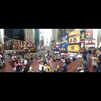 Photo taken at Times Square Museum and Visitor Center by Helvin R. on 9/20/2012
