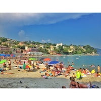 Photo taken at Lungomare di Santa Margherita Ligure by Manuel on 8/27/2013