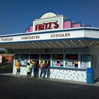 Photo taken at Fritz's Frozen Custard by Vince L. on 5/11/2013