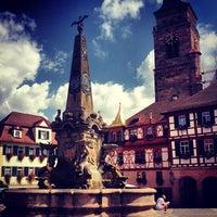 Photo taken at Marktplatz by Laszlo R. on 8/21/2013