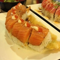Photo taken at Orange Roll & Sushi by Anthony E. on 3/28/2013