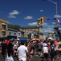 Photo taken at Greek Town, The Danforth by Nadia I. on 8/7/2016
