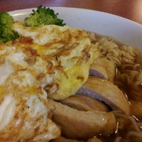 Photo taken at Wok Star Express 華記茶餐廳 by 無比敵敵 on 9/15/2012