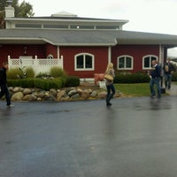 Photo taken at Black Star Farms Winery by Nate B. on 10/6/2012