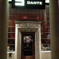Photo taken at Dante by Karl on 12/9/2012