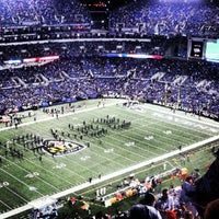 Photo taken at M&T Bank Stadium by Ryan H. on 9/28/2012