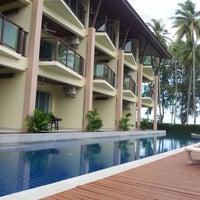 Photo taken at Lanta Pura Beach Resort by Amanda C. on 1/1/2013