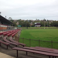 Photo taken at Brookvale Oval by Kirkwood J. on 12/27/2014
