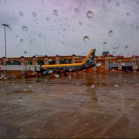 Photo taken at Sultan Ismail Petra Airport (KBR) by Ladypearl T. on 12/24/2012