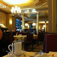 Photo taken at Café de la Paix by Brandon M. on 10/1/2012