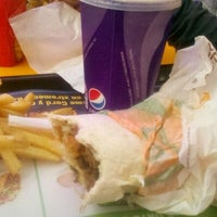 Photo taken at Taco Bell by Fabian G. on 12/9/2012