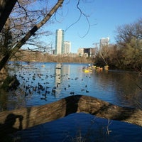 Photo taken at Lady Bird Lake by Liz S. on 2/8/2013