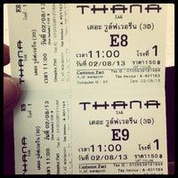 Photo taken at THANA Cineplex by Iamkung L. on 8/2/2013