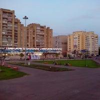 "Photo taken at Площадь перед ЛДС ""Кристалл"" by Александр К. on 5/5/2013"