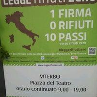 Photo taken at Piazza del Teatro (Piazza Verdi) by Maura L. on 4/14/2013