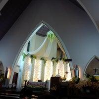 Photo taken at Gereja Katolik Katedral Santa Perawan Maria Dari Gunung Karmel by AGUSTINUS R. on 6/6/2014