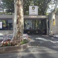 Photo taken at Kadıköy Anadolu Lisesi by Cozi on 10/7/2012