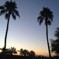 Photo taken at The Canyon Suites at The Phoenician by Ian G. on 1/8/2013
