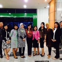 Photo taken at Bank Bukopin by Dinnar Kusumawati D. on 2/7/2014