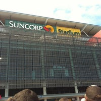 Photo taken at Suncorp Stadium by Amanda on 2/9/2013