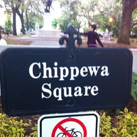 Photo taken at Chippewa Square by Bill H. on 4/27/2013
