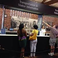 Photo taken at Charleston Visitor Center by Wayne N. on 7/28/2013
