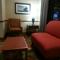 Photo taken at Holiday Inn Express Athens-University Area by Hippiestrand on 4/6/2014