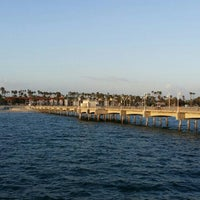 Photo taken at Belmont Veterans Memorial Pier by Al G. on 3/31/2016