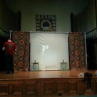 Photo taken at Unitarian Church of Norfolk by John Mark B. on 4/22/2014
