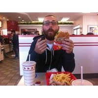 Photo taken at In-N-Out Burger by Tim on 4/18/2013