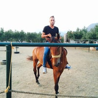 Photo taken at ΜΑΝΗ horses by Aggelos F. on 8/5/2015
