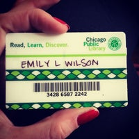 Photo taken at Chicago Public Library by Emily W. on 10/27/2014