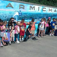 Photo taken at Carmichael Park by Elizabeth A. on 6/5/2013